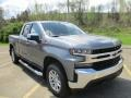 Shadow Gray Metallic - Silverado 1500 LT Double Cab 4WD Photo No. 12