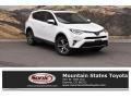 Super White 2018 Toyota RAV4 XLE AWD