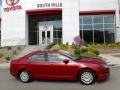 2010 Red Candy Metallic Ford Fusion SE  photo #2