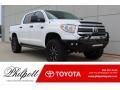 2017 Super White Toyota Tundra SR5 CrewMax 4x4 #133058507