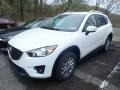 Crystal White Pearl Mica - CX-5 Touring AWD Photo No. 1