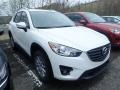 Crystal White Pearl Mica - CX-5 Touring AWD Photo No. 3