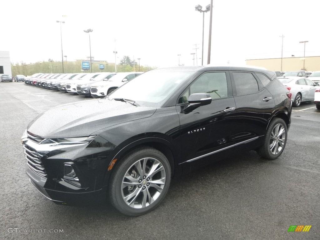 2019 Black Chevrolet Blazer Premier Awd 133058466 Gtcarlot Com Car Color Galleries