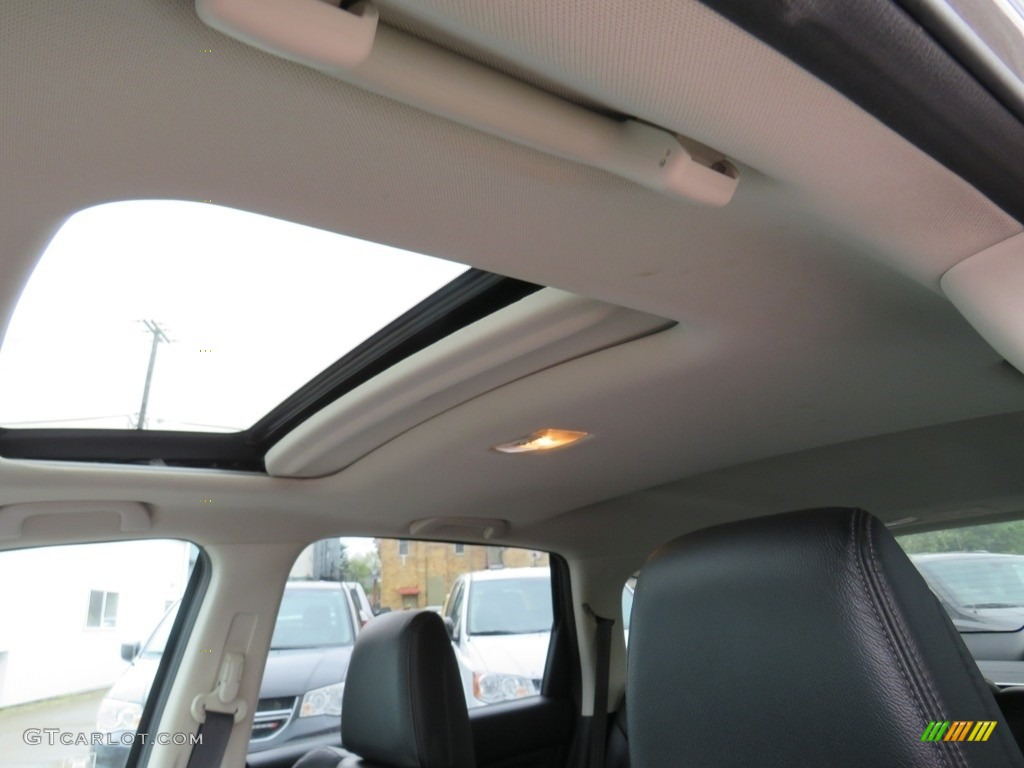 2012 CR-V EX-L 4WD - Alabaster Silver Metallic / Black photo #2