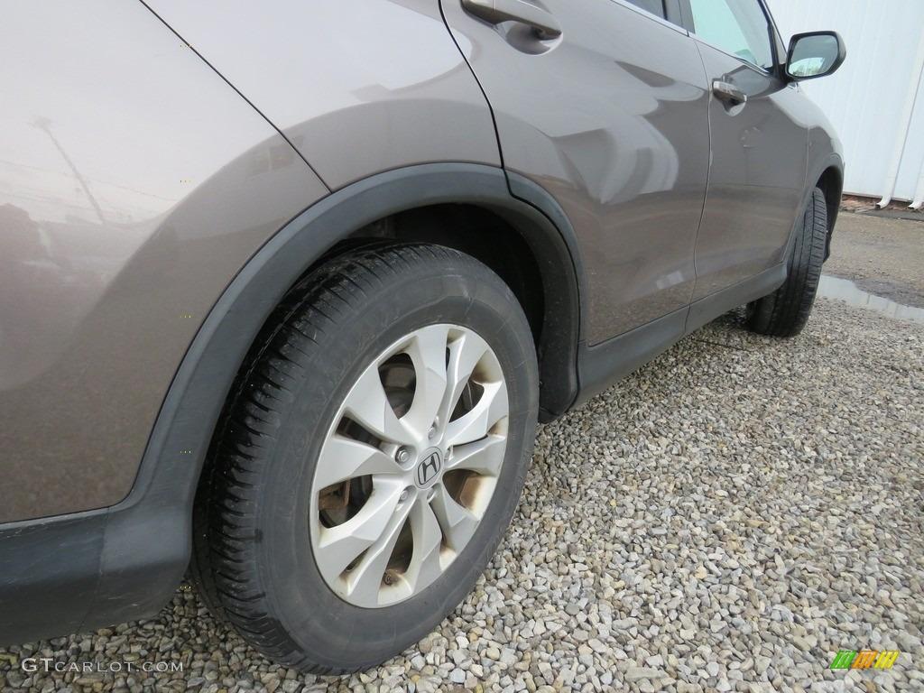 2012 CR-V EX-L 4WD - Alabaster Silver Metallic / Black photo #17