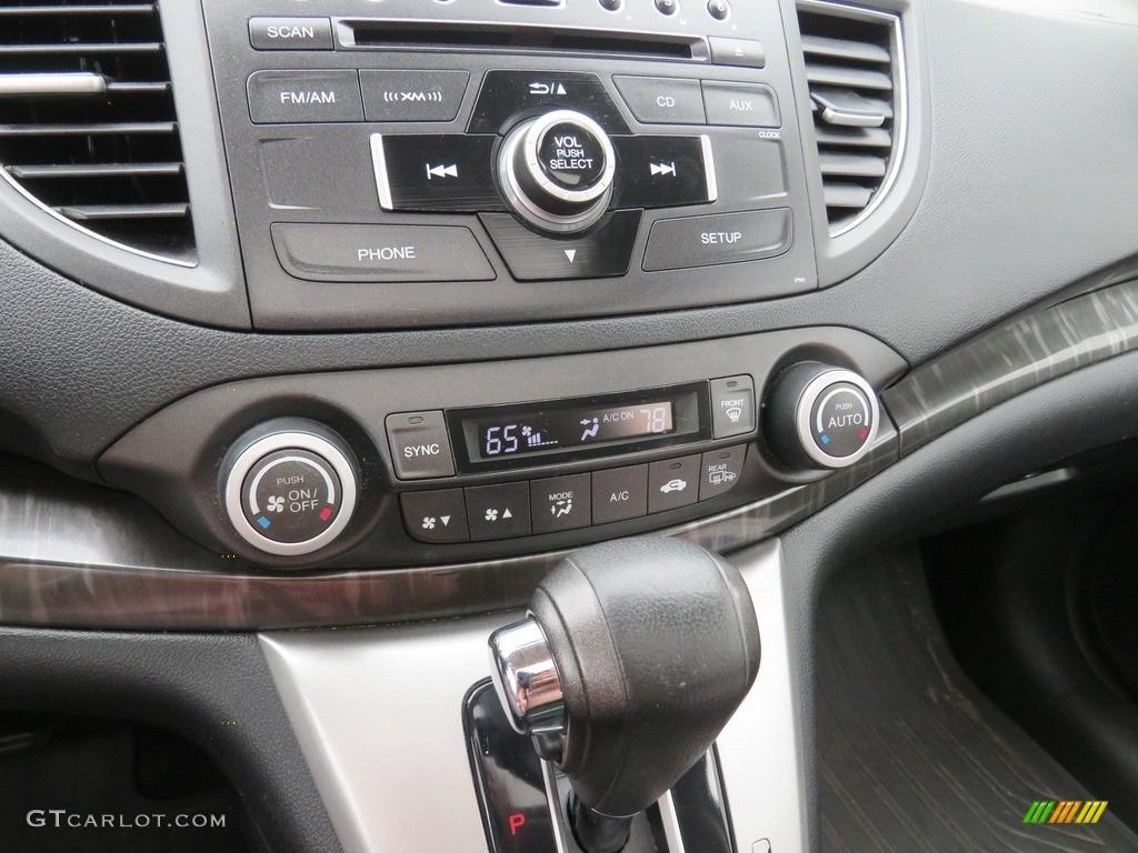 2012 CR-V EX-L 4WD - Alabaster Silver Metallic / Black photo #28