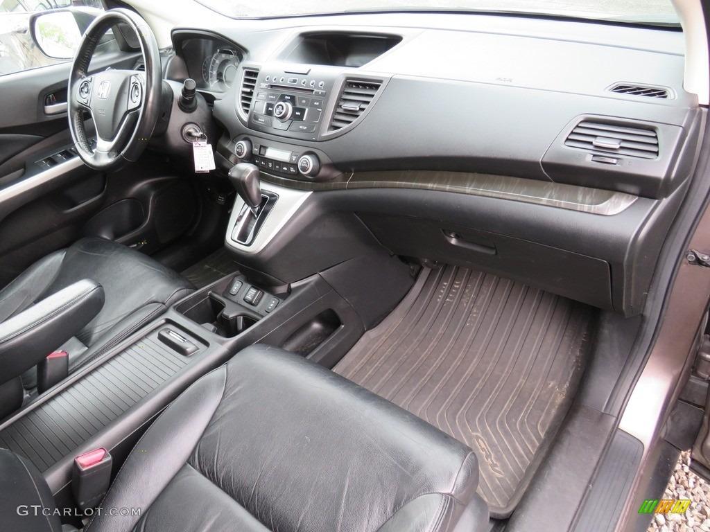 2012 CR-V EX-L 4WD - Alabaster Silver Metallic / Black photo #40