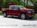 Cajun Red Tintcoat 2019 Chevrolet Silverado 1500 High Country Crew Cab 4WD