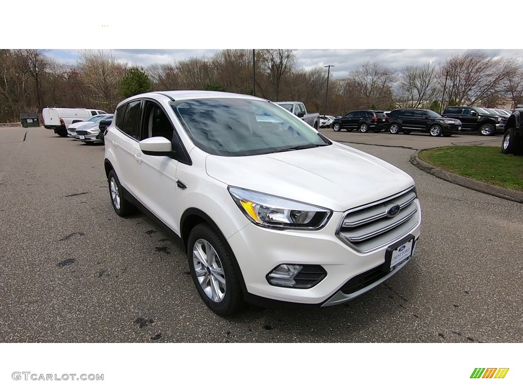 2019 Escape SE 4WD - White Platinum / Chromite Gray/Charcoal Black photo #1