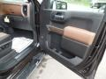 2019 Chevrolet Silverado 1500 Jet Black/Umber Interior Door Panel Photo