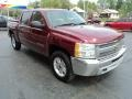 2013 Deep Ruby Metallic Chevrolet Silverado 1500 LT Crew Cab 4x4  photo #5