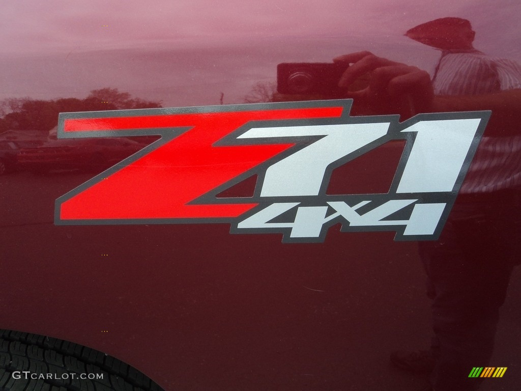 2013 Silverado 1500 LT Crew Cab 4x4 - Deep Ruby Metallic / Ebony photo #33
