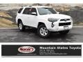 Super White 2019 Toyota 4Runner SR5 4x4