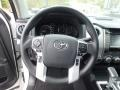 2019 Toyota Tundra Black Interior Steering Wheel Photo