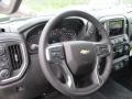 Jet Black Steering Wheel Photo for 2019 Chevrolet Silverado 1500 #133139771