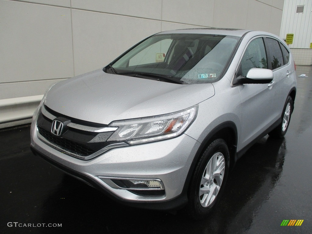 2016 CR-V EX AWD - Alabaster Silver Metallic / Black photo #8