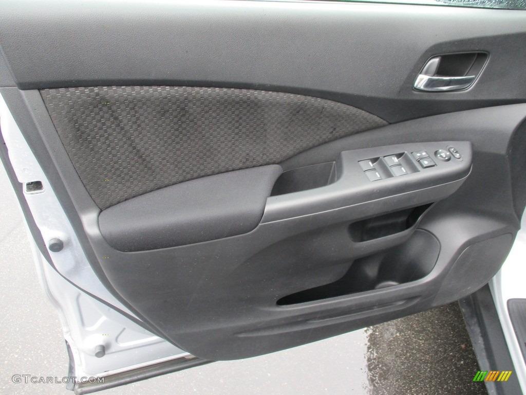 2016 CR-V EX AWD - Alabaster Silver Metallic / Black photo #9