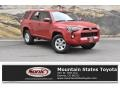 Barcelona Red Metallic 2018 Toyota 4Runner SR5 4x4
