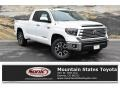 2019 Super White Toyota Tundra Limited Double Cab 4x4 #133146455
