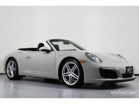 2018 Porsche 911 Carrera Cabriolet Data, Info and Specs