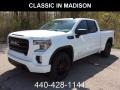 Summit White 2019 GMC Sierra 1500 Elevation Double Cab 4WD