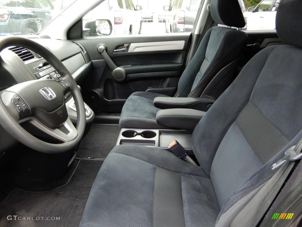 2010 CR-V EX AWD - Alabaster Silver Metallic / Black photo #6