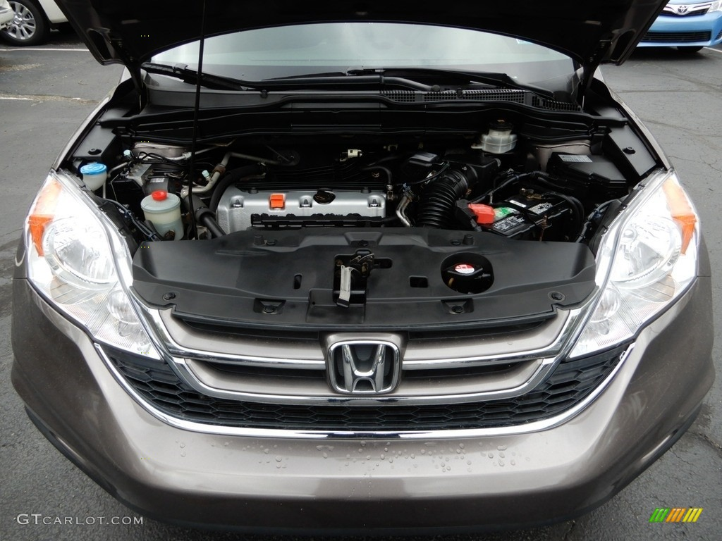 2010 CR-V EX AWD - Alabaster Silver Metallic / Black photo #11