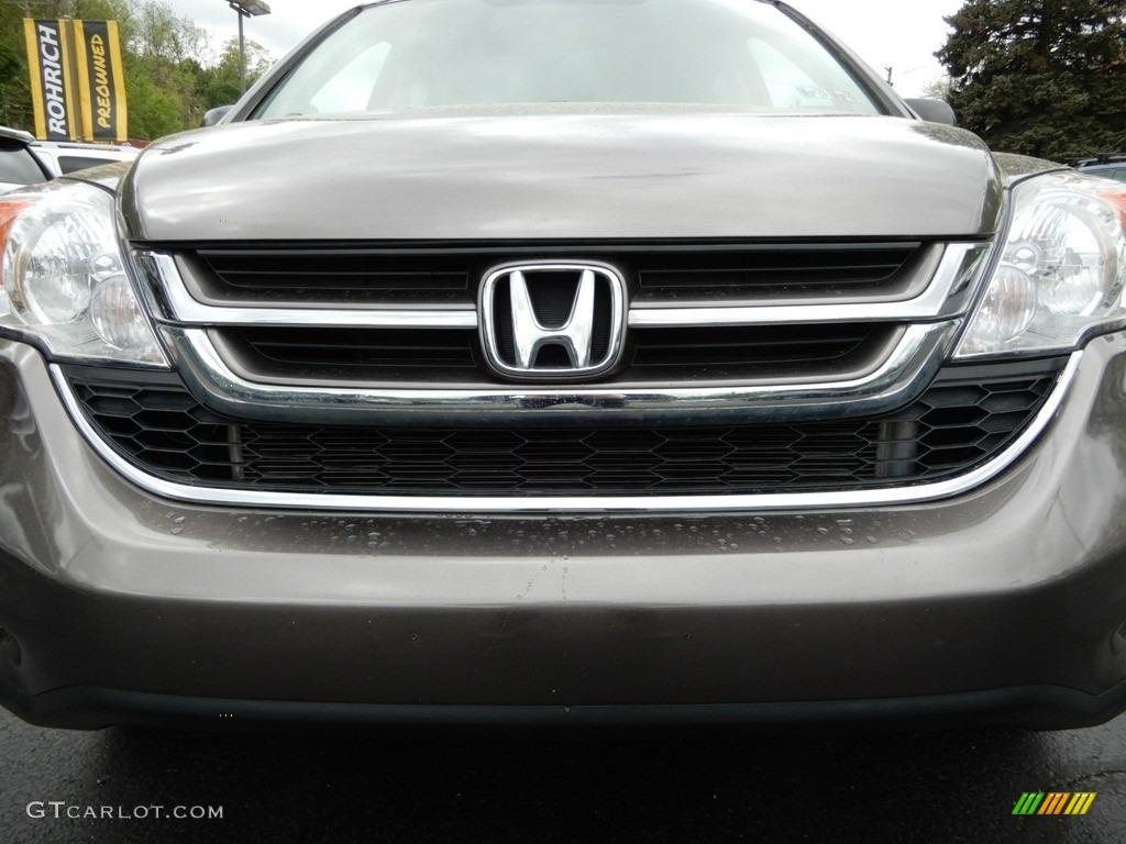 2010 CR-V EX AWD - Alabaster Silver Metallic / Black photo #13