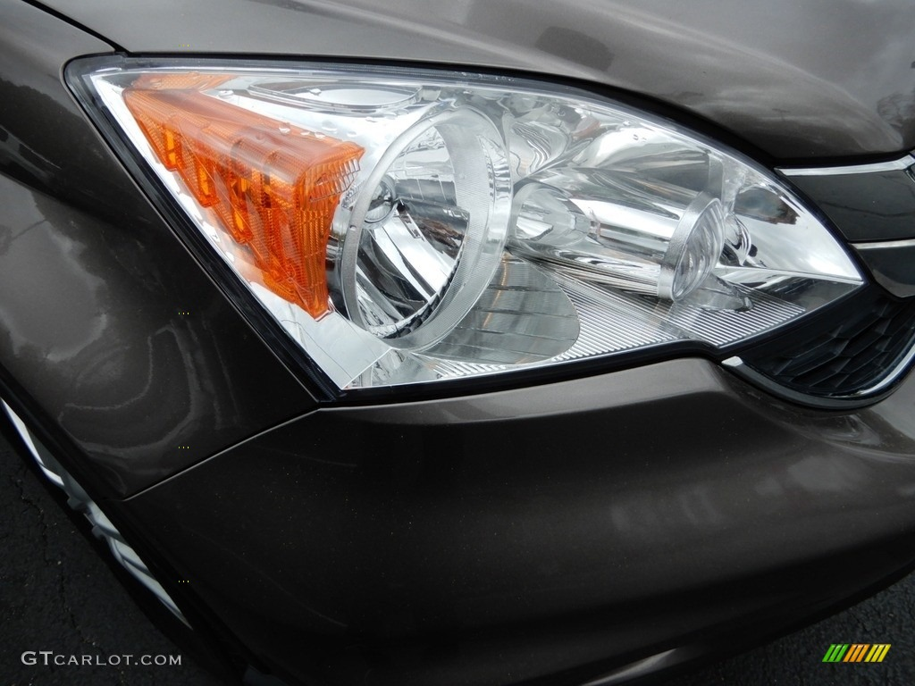 2010 CR-V EX AWD - Alabaster Silver Metallic / Black photo #14