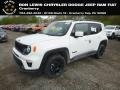 2019 Alpine White Jeep Renegade Latitude 4x4  photo #1