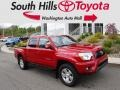 Barcelona Red Metallic 2014 Toyota Tacoma V6 TRD Sport Double Cab 4x4