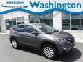 2016 Urban Titanium Metallic Honda CR-V EX AWD  photo #1