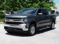 2019 Satin Steel Metallic Chevrolet Silverado 1500 LT Crew Cab 4WD  photo #5