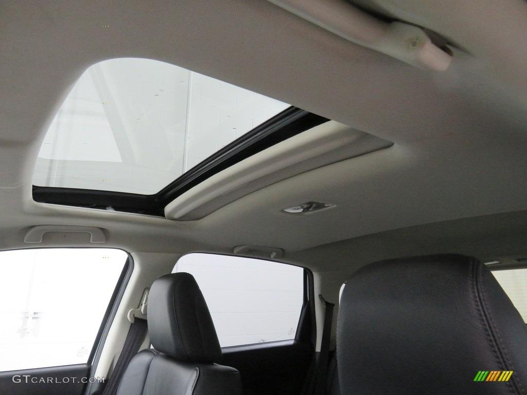 2013 CR-V EX-L AWD - White Diamond Pearl / Gray photo #2
