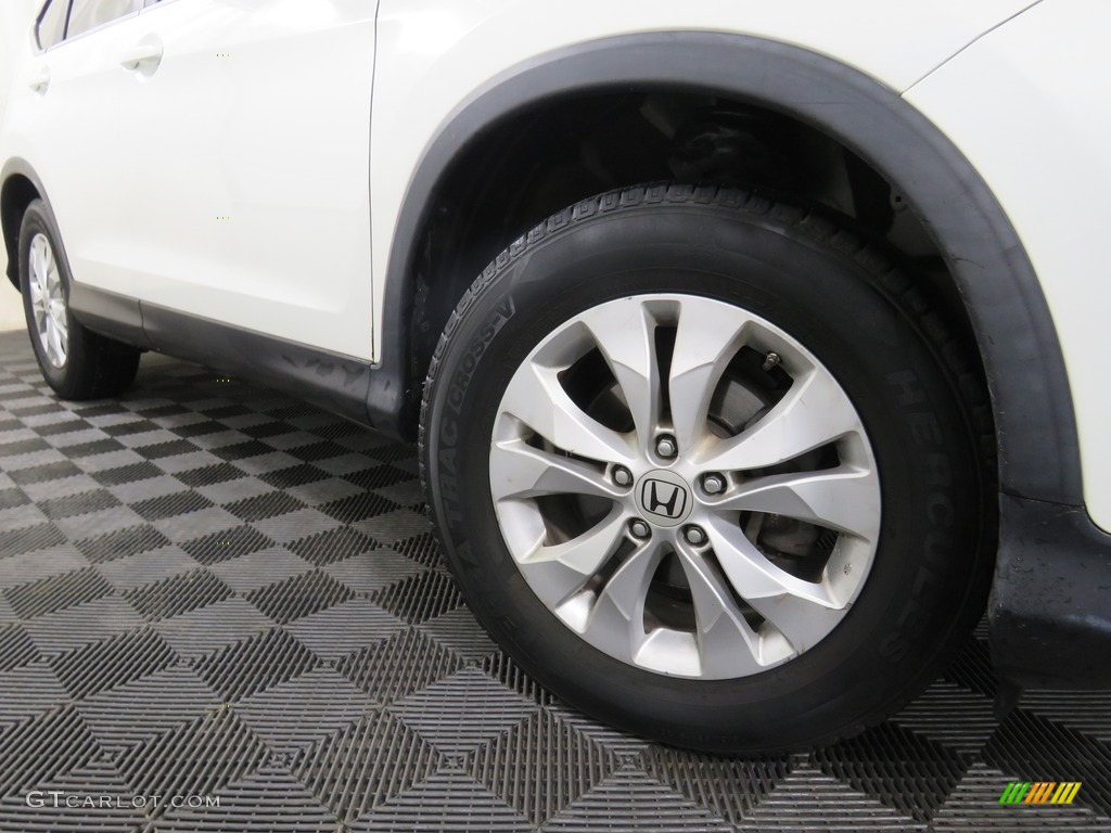 2013 CR-V EX-L AWD - White Diamond Pearl / Gray photo #5