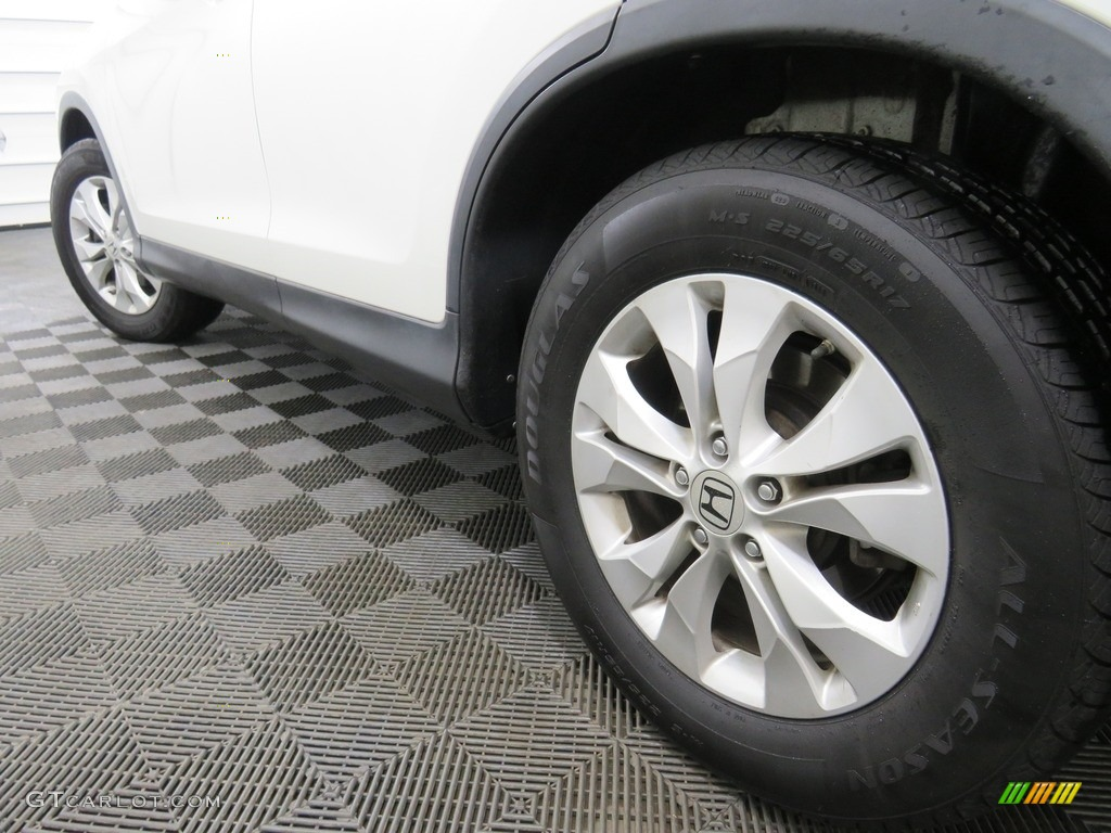2013 CR-V EX-L AWD - White Diamond Pearl / Gray photo #12