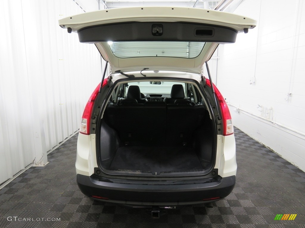 2013 CR-V EX-L AWD - White Diamond Pearl / Gray photo #15