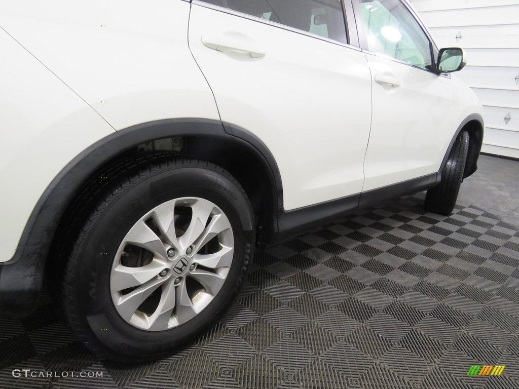 2013 CR-V EX-L AWD - White Diamond Pearl / Gray photo #19