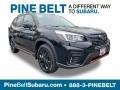 Crystal Black Silica 2019 Subaru Forester 2.5i Sport
