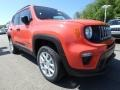 2019 Omaha Orange Jeep Renegade Sport 4x4  photo #8