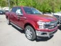 2019 Ruby Red Ford F150 Lariat SuperCrew 4x4  photo #3