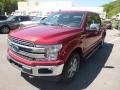 2019 Ruby Red Ford F150 Lariat SuperCrew 4x4  photo #5