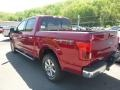 2019 Ruby Red Ford F150 Lariat SuperCrew 4x4  photo #6
