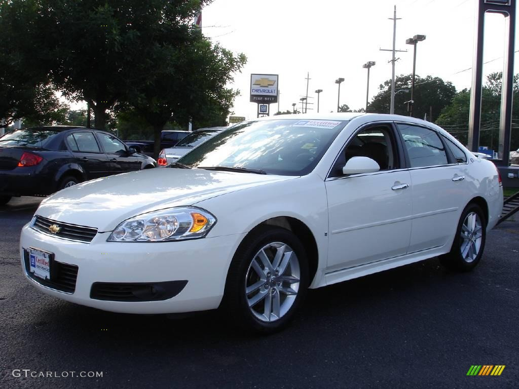2009 White Chevrolet Impala Ltz 13292786 Gtcarlot Com