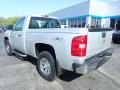 2013 Silver Ice Metallic Chevrolet Silverado 1500 Work Truck Regular Cab 4x4  photo #6