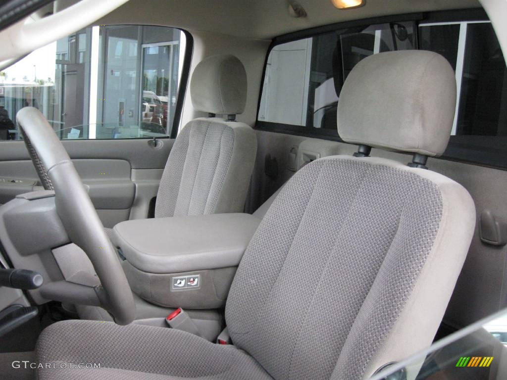 2005 Ram 1500 SLT Regular Cab 4x4 - Light Almond Pearl / Taupe photo #11