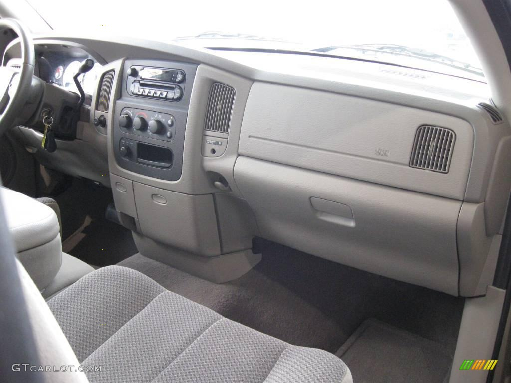 2005 Ram 1500 SLT Regular Cab 4x4 - Light Almond Pearl / Taupe photo #14