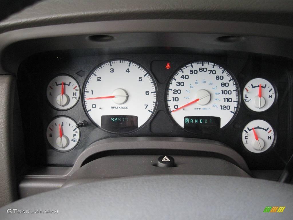 2005 Ram 1500 SLT Regular Cab 4x4 - Light Almond Pearl / Taupe photo #16