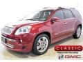 Red Jewel Tintcoat 2011 GMC Acadia Denali AWD