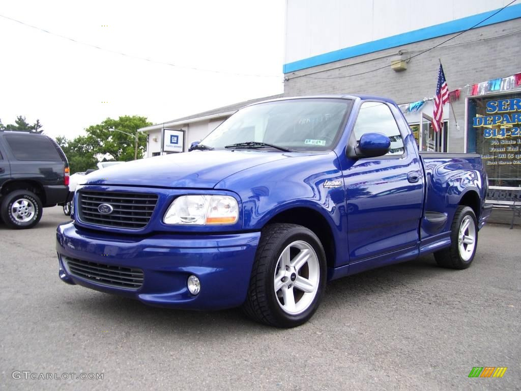 fotos ford f150 svt lightning 13297346 2003 sonic blue metallic ford